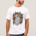 Flowerhair Sugar Skull T-Shirt