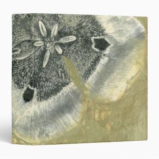 Flowerhead Abstract with Glazed Texture Vinyl Binders