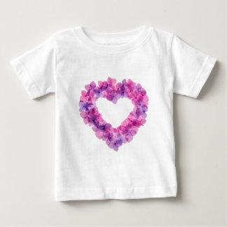 Flowerheart Baby T-Shirt
