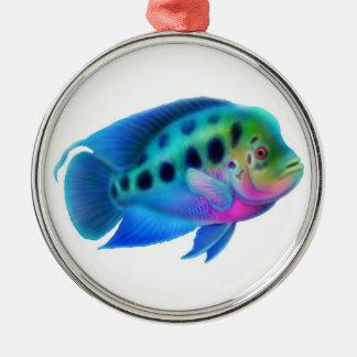 Flowerhorn Cichlid Aquarium Fish Ornament
