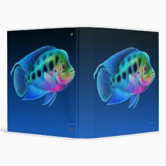Flowerhorn Cichlid Fish Avery Binder
