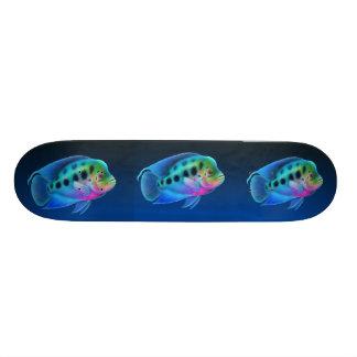 Flowerhorn Cichlid Fish Skateboard