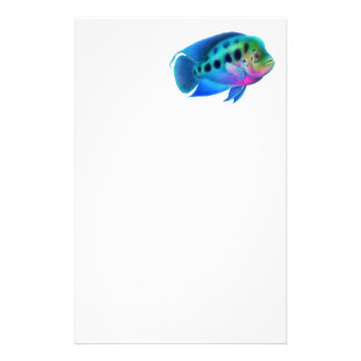 Flowerhorn Cichlid Fish Stationery