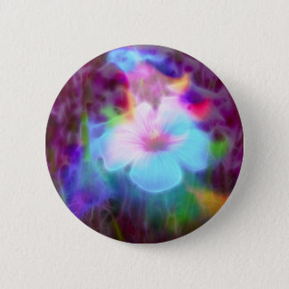 FlowerImplosion 2 Pinback Button