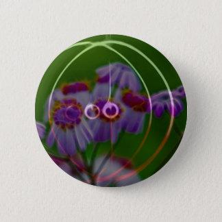 FlowerImplosion 5 Pinback Button