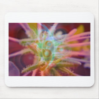 FlowerImplosion 6 Mouse Pad