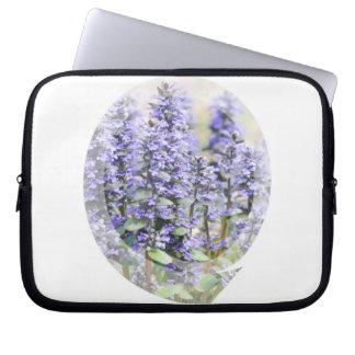 Flowering Ajuga Electronics Bag Laptop Sleeve