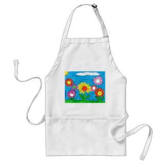 Flowering apron