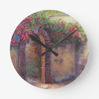 flowering arch clocks