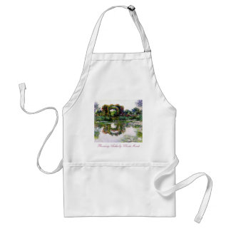 Flowering Arches by Claude Monet Adult Apron
