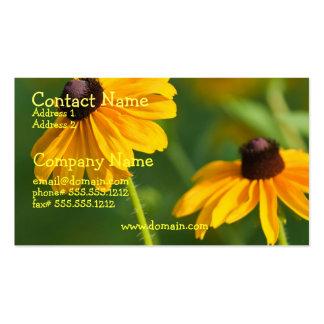 Flowering Black Eyed Susan Business Card