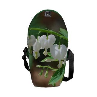 Flowering Bleeding Heart Courier Bag