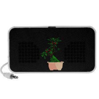 Flowering Bonsai in Pink Square Pot Mp3 Speakers