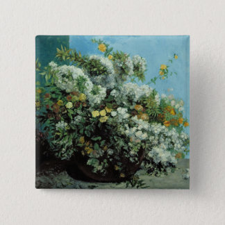 Flowering Branches and Flowers, 1855 Button