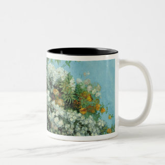 Flowering Branches and Flowers, 1855 Two-Tone Coffee Mug