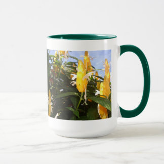 Flowering bush in Baguio, PH Mug