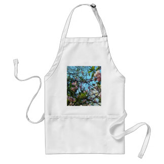 Flowering Cherry, Blossom, Nature, Pink Flower Adult Apron