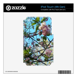 Flowering Cherry, Blossom, Nature, Pink Flower iPod Touch 4G Decal