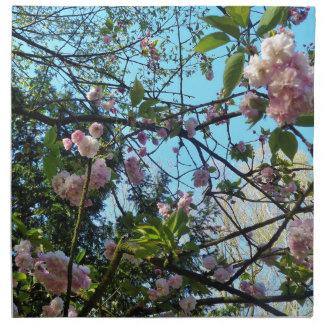 Flowering Cherry, Blossom, Nature, Pink Flower Napkin