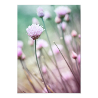 Flowering chives I Card