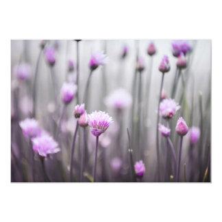 Flowering chives III Card