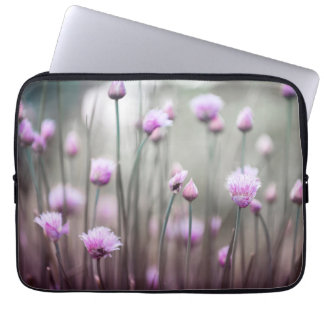 Flowering chives IV Computer Sleeve