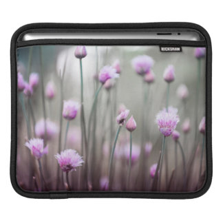 Flowering chives IV Sleeve For iPads