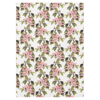 Flowering Crabapple Tablecloth