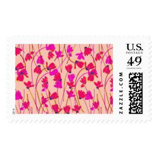Flowering Cyclamen #3 - Postal Stamp