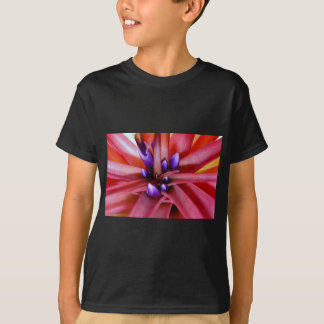 Flowering Epiphyte in Pink and Purple T-Shirt