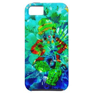 Flowering fantasy musician iPhone SE/5/5s case