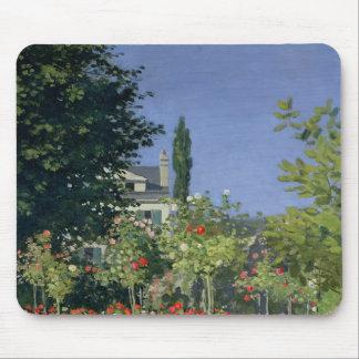 Flowering Garden at Sainte-Adresse, c.1866 Mouse Pad