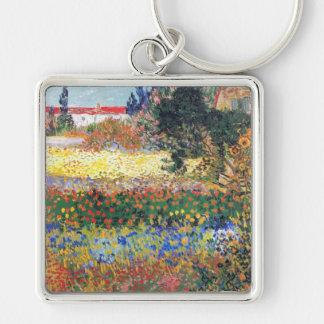 FLowering Garden, Vincent Van Gogh Key Chain