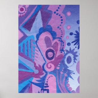 Flowering Harmonics Poster