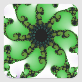 Flowering Life Square Sticker