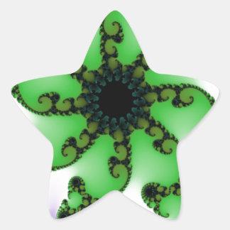 Flowering Life Star Sticker