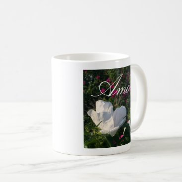Beach Themed Flowering Love Coffee Mug
