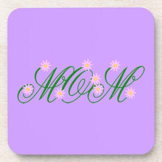 Flowering Mom pink Coaster