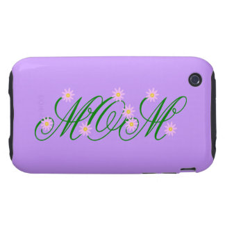 Flowering Mom pink iPhone 3 Tough Cover
