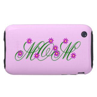 Flowering Mom purple Tough iPhone 3 Case