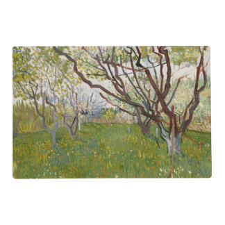 Flowering Orchard by Vincent Van Gogh Placemat