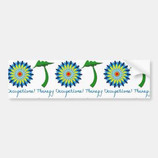 Flowering OT letters Bumper Sticker