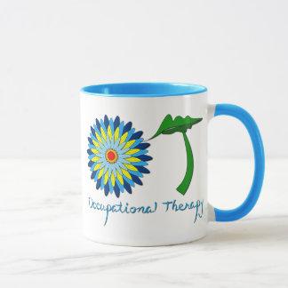 Flowering OT letters Mug