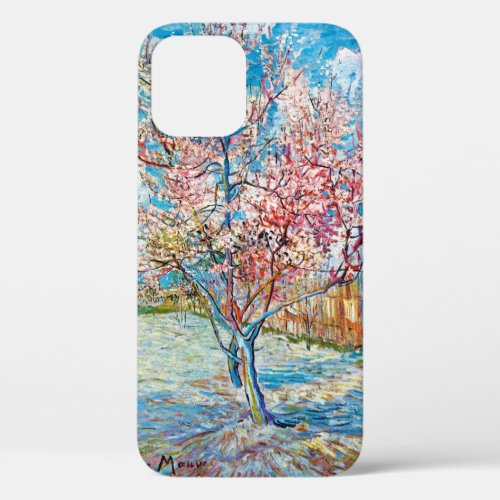 Flowering Peach Tree, Van Gogh Phone Case