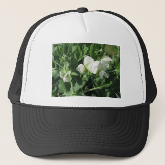 Flowering peas plant in a field . Tuscany, Italy Trucker Hat