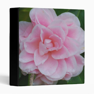 Flowering Pink Camelia 3 Ring Binder