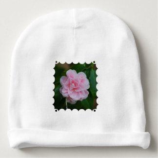 Flowering Pink Camelia Baby Beanie