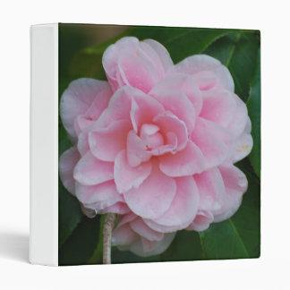Flowering Pink Camelia Binder
