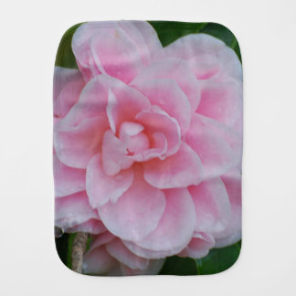 Flowering Pink Camelia Burp Cloth