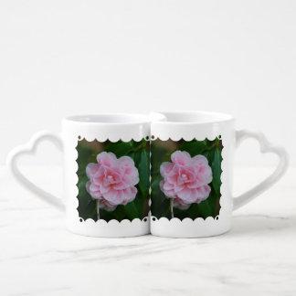 Flowering Pink Camelia Coffee Mug Set